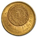 1921/11 Mexico Gold 20 Pesos BU