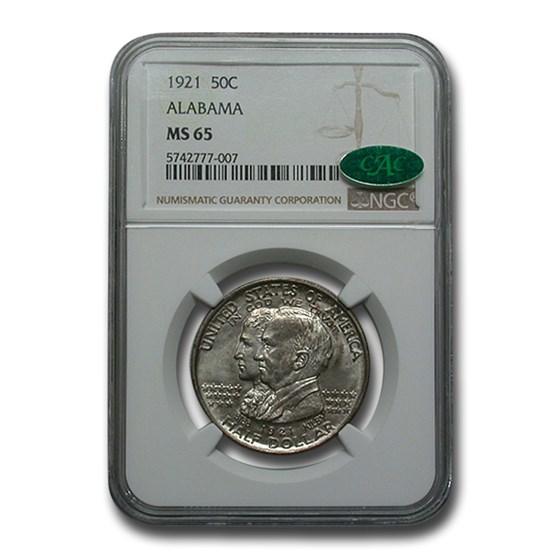 1921 Alabama Centennial Commemorative Half Dollar MS-65 NGC CAC