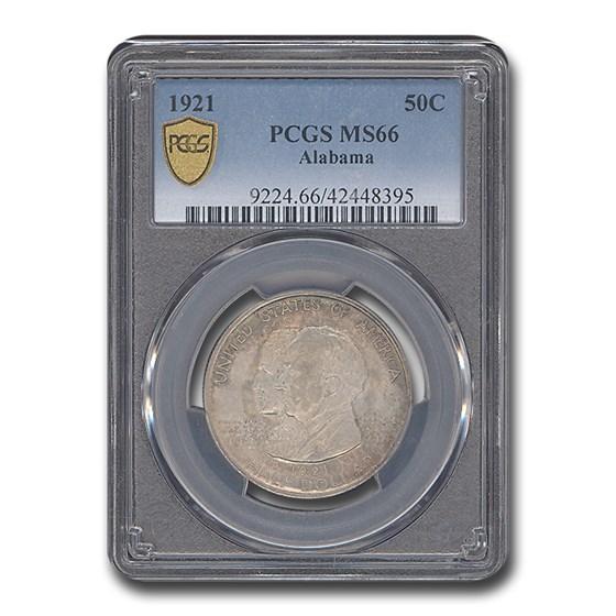 1921 Alabama Centennial Half Dollar MS-66 PCGS
