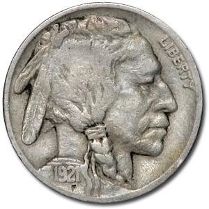 1921 Buffalo Nickel VF