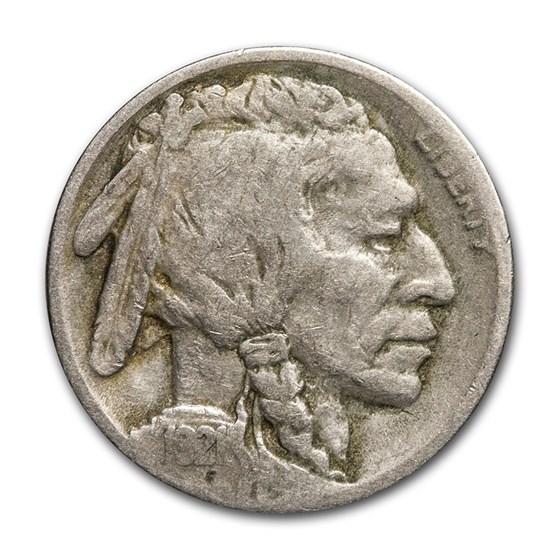 1921 Buffalo Nickel VG