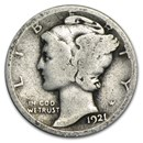 1921-D Mercury Dime Good