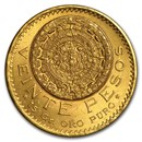 1921 Mexico Gold 20 Pesos BU