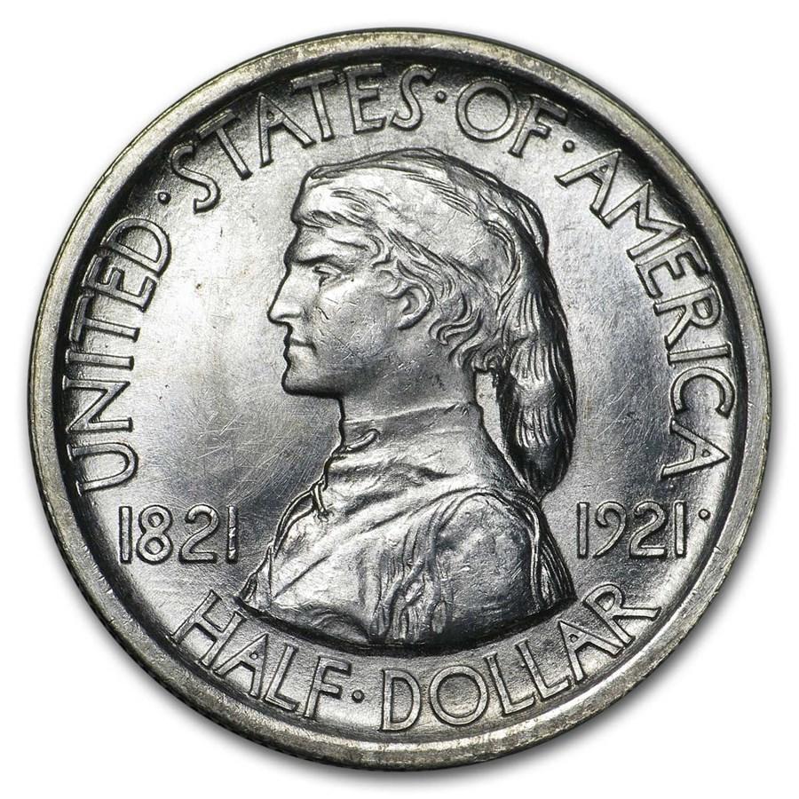 1921 Missouri Tercentenary Half Dollar Commem BU