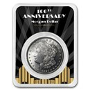 1921 Morgan Silver Dollar 100th Anniversary BU - Spotlights