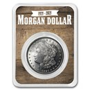 1921 Morgan Silver Dollar 100th Anniversary BU - Wooden Back