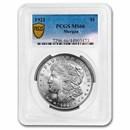 1921 Morgan Silver Dollar Mint State-66 PCGS