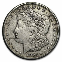 1921 P, D, or S Morgan Silver Dollar Cull (Random)