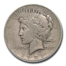 1921 Peace Dollar VF-25 PCGS