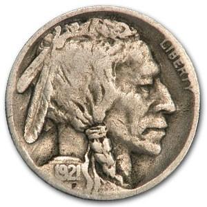 1921-S Buffalo Nickel Good