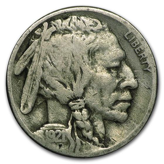 1921-S Buffalo Nickel VG