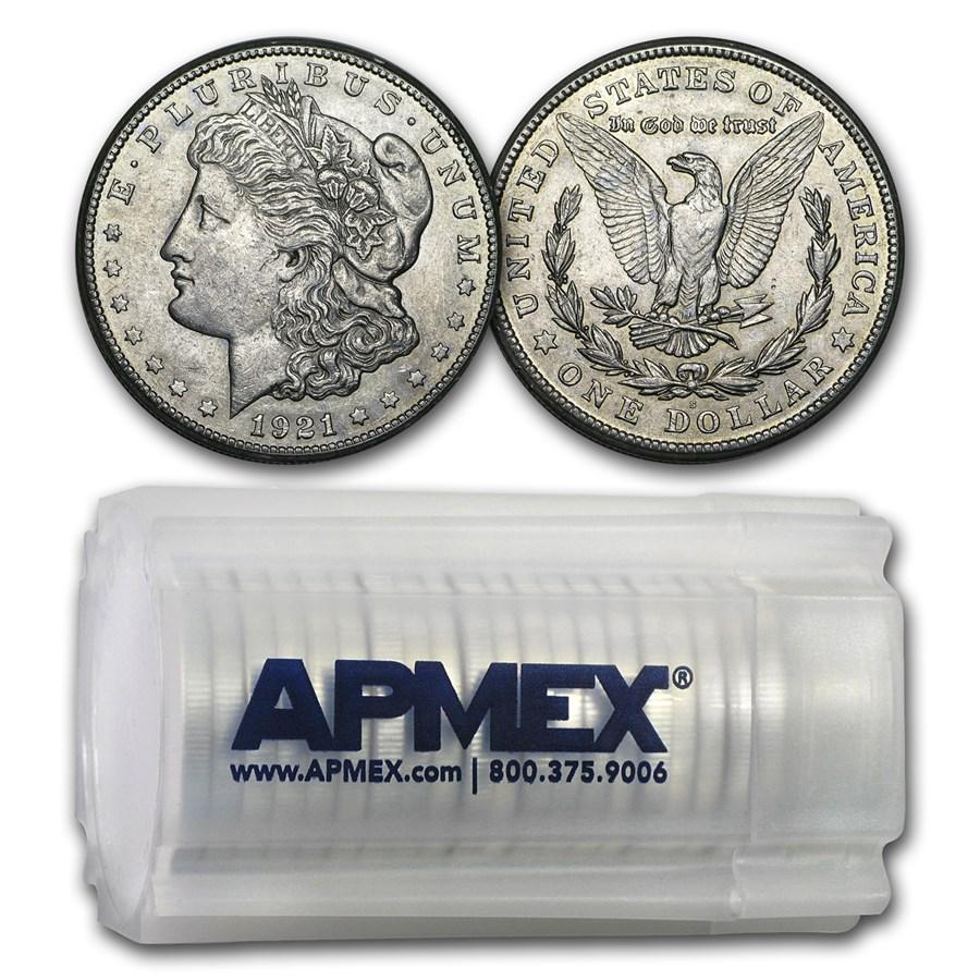 1921-S Morgan Dollar AU (20 Count Roll)