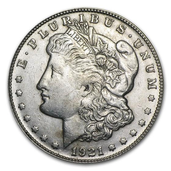 1921-S Morgan Dollar AU