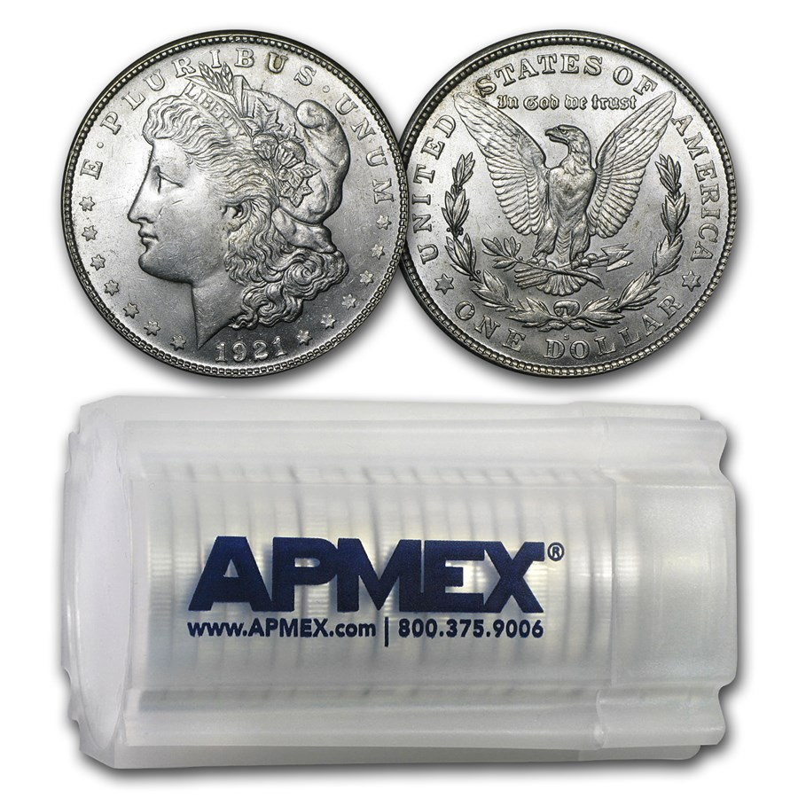 1921-S Morgan Dollar BU (20 Count Roll)