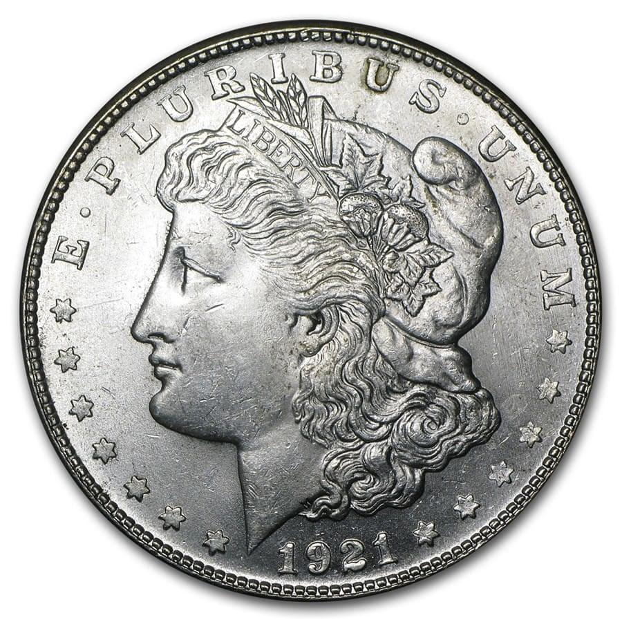 1921-S Morgan Dollar BU