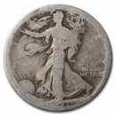 1921-S Walking Liberty Half Dollar AG