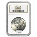 1922-1935 Peace Dollars MS-65 NGC