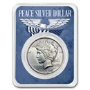 1922-1935 Peace Silver Dollar Eagle Wings Card BU (Random Year)
