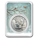 1922-1935 Peace Silver Dollar Snowy Birds BU (Random Year)