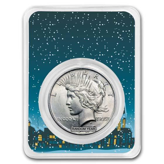 Random Year Peace Dollar BU