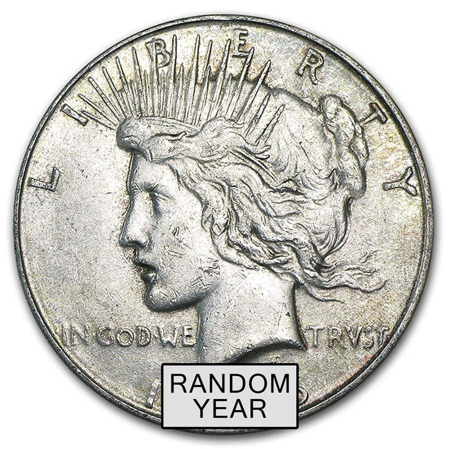 1922-S Peace Silver Dollar 90/% US Coin United States VG-XF Circ San Francisco