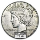 1922-1935 Peace Silver Dollar VG-XF (Random Year)
