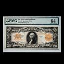 1922 $20 Gold Certificate CU-64 PMG (Fr#1187)