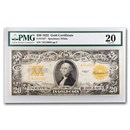 1922* $20 Gold Certificate VF-20 PMG (Fr#1187*) Star Note