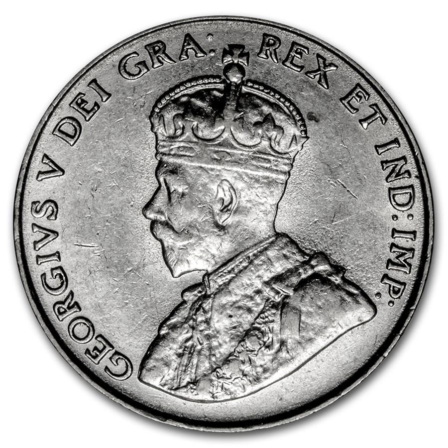 1922 Canada 5 Cents AU