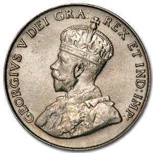 1922 Canada 5 Cents BU