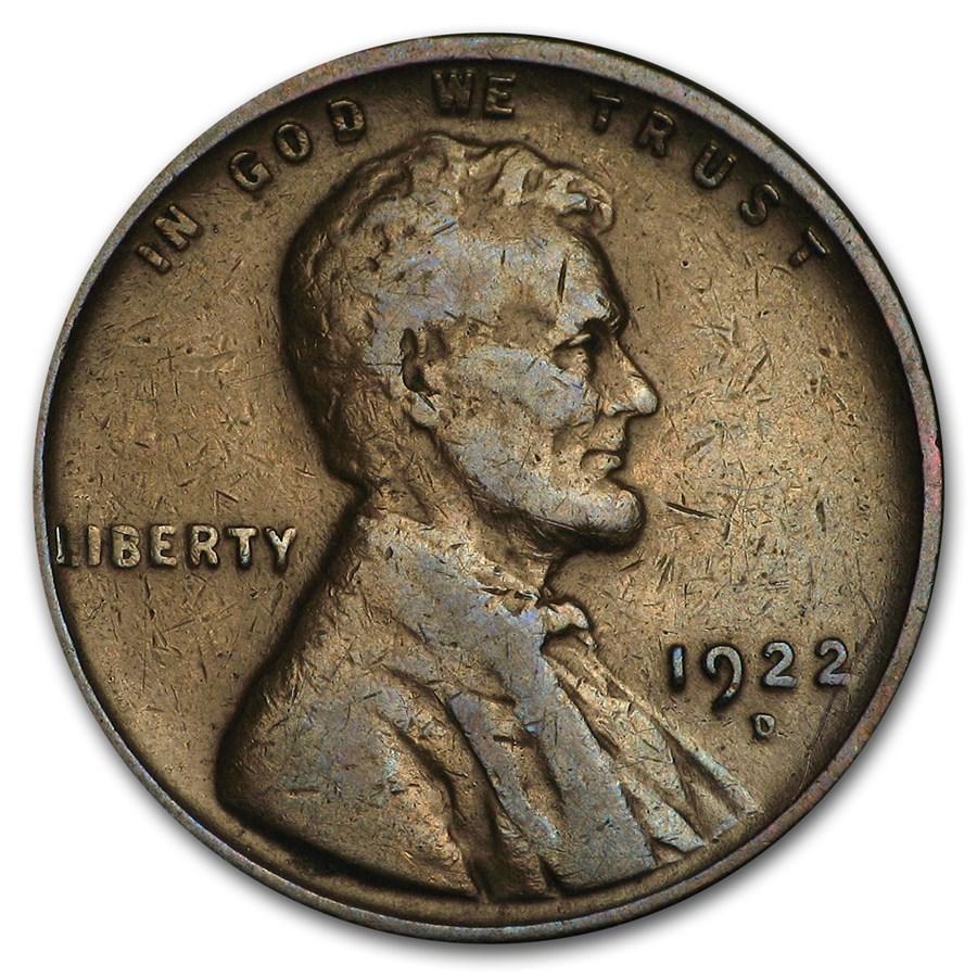 1922-D Lincoln Cent Fine