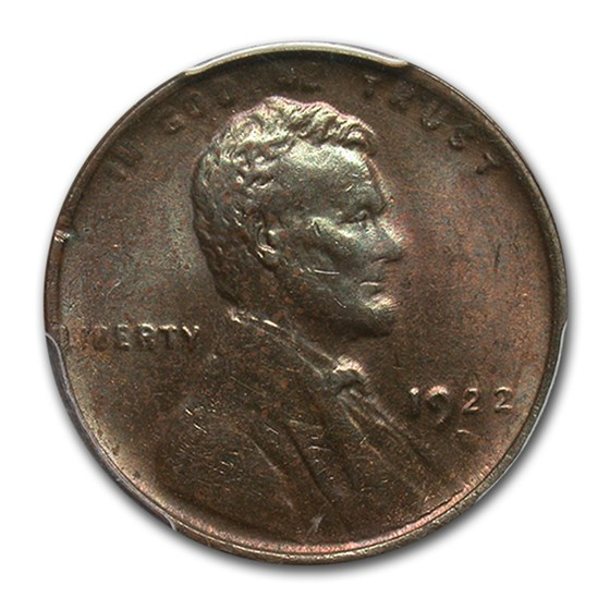 1922-D Lincoln Cent MS-62 PCGS (Brown)