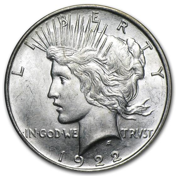 1922-D Peace Dollar BU