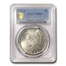 1922-D Peace Dollar MS-66+ PCGS