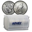1922-D Peace Silver Dollars AU (20-Coin Roll)