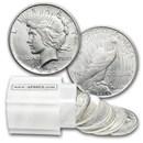 1922-D Peace Silver Dollars BU (20-Coin Roll)
