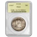 1922 Grant Half Dollar MS-63 PCGS