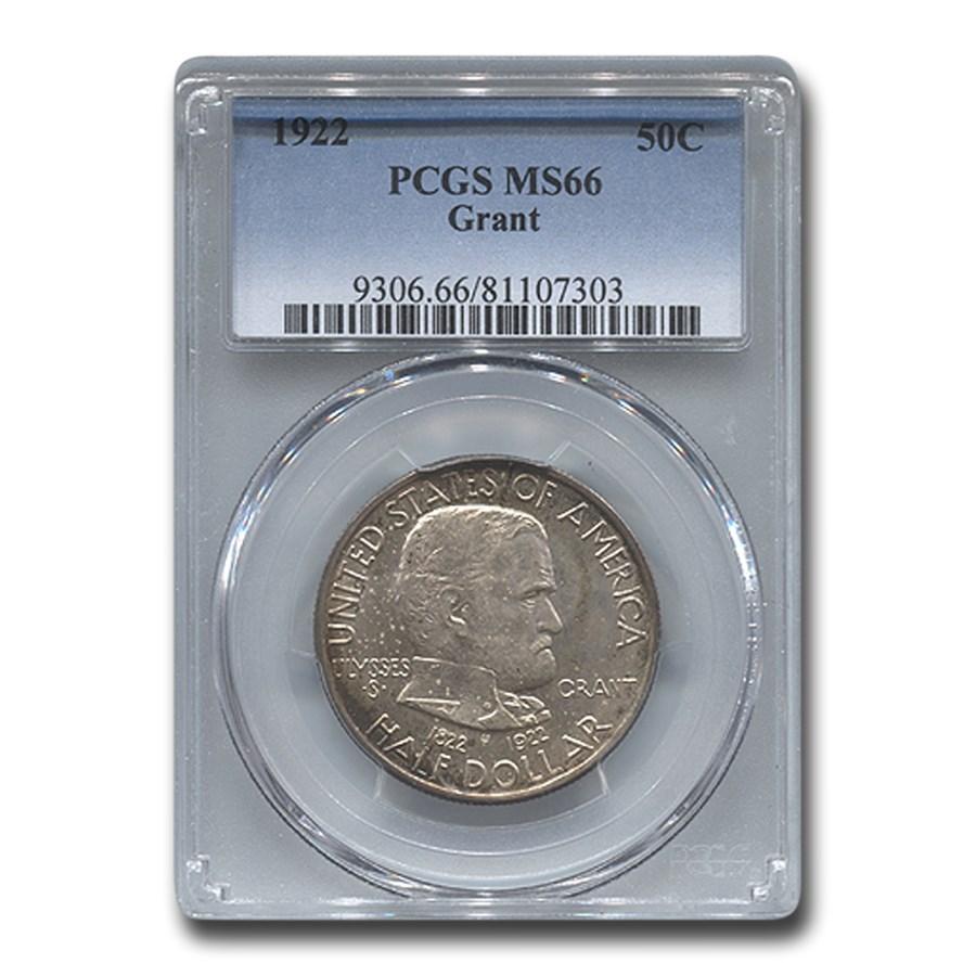 1922 Grant Half Dollar MS-66 PCGS