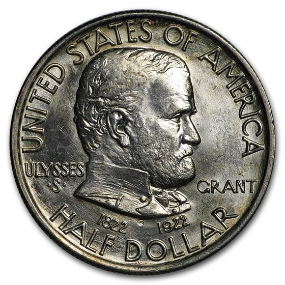 1922 Grant Memorial Half BU