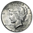 1922-S Peace Dollar AU