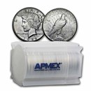 1922-S Peace Silver Dollars AU (20-Coin Roll)