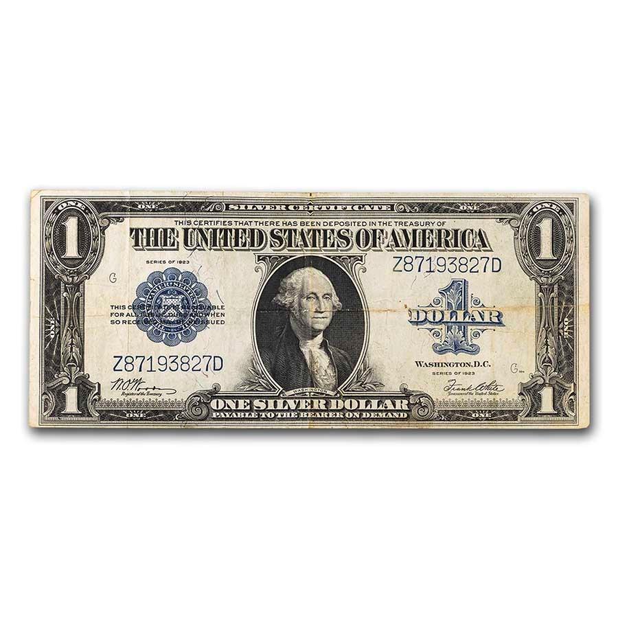 1923 $1.00 Silver Certificate Fine (Fr#238)