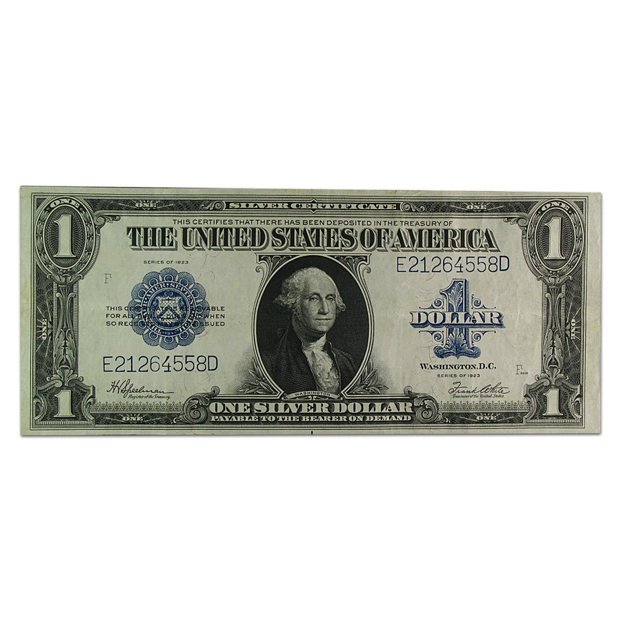 1923 $1.00 Silver Certificate XF (Fr#237)