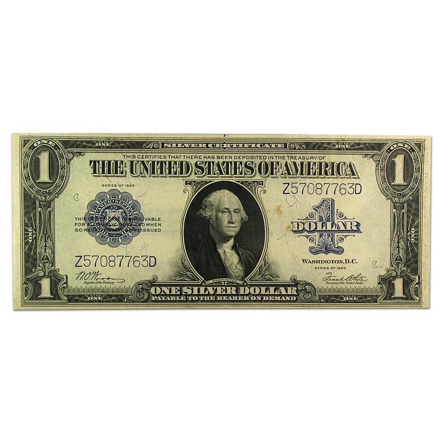 1923 $1.00 Silver Certificate XF (Fr#238)