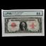 1923 $1.00 United States Note Red Seal Ch CU-64 PMG