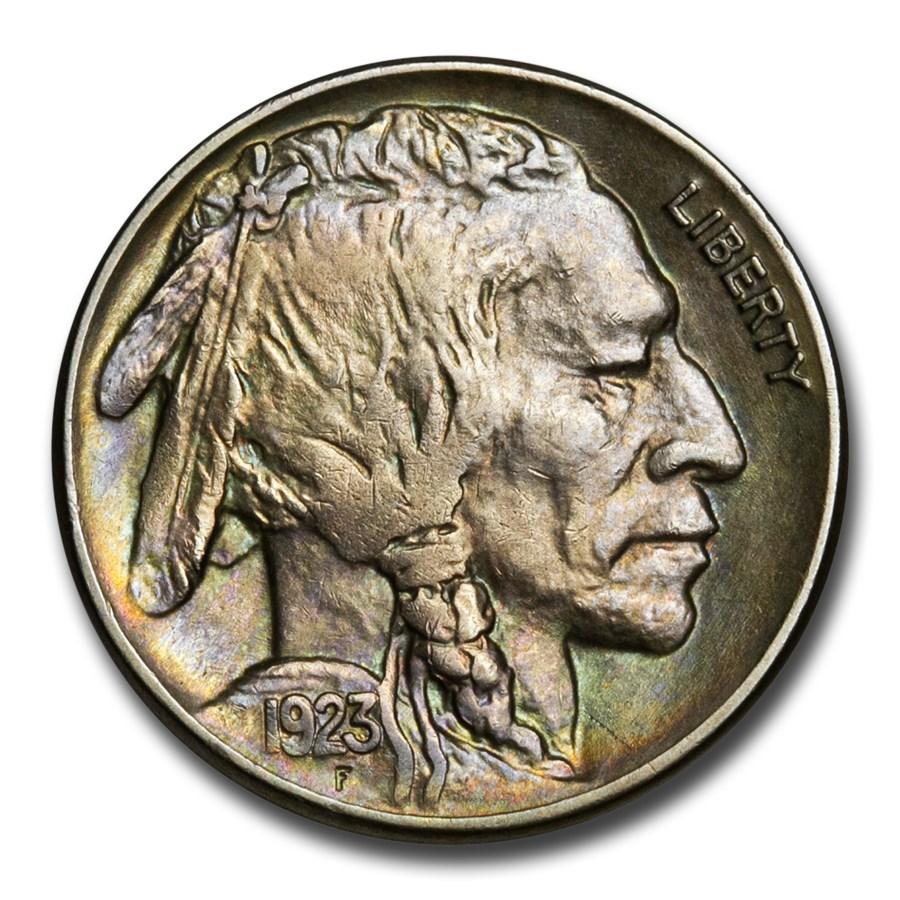 1923 Buffalo Nickel AU