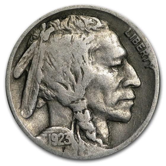 1923 Buffalo Nickel Good+