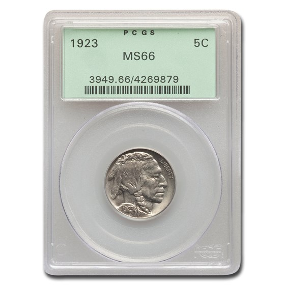 1923 Buffalo Nickel MS-66 PCGS
