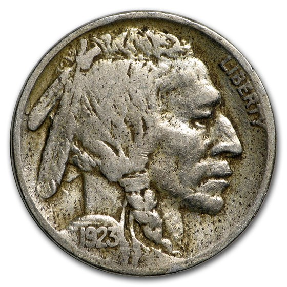 1923 Buffalo Nickel VF Details