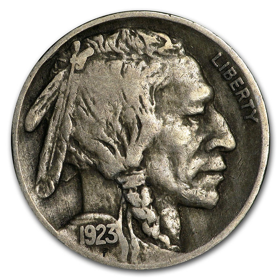 1923 Buffalo Nickel VF